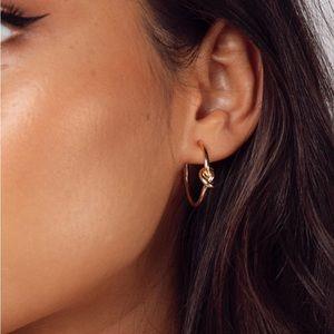 Princess Polly Knot Hoop Earrings